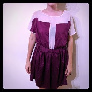 Romeo and Juliet Couture Purple Dress
